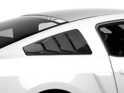 MMD Quarter Window Louvers - Carbon Fiber (05-14 Coupe)