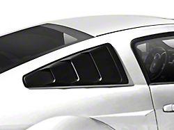 MMD Quarter Window Louvers - Matte Black (05-14 Coupe)