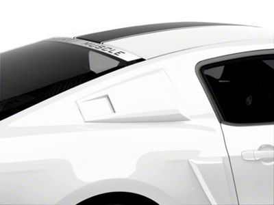 MMD Eleanor Style Scoops - Unpainted (05-14 Coupe)