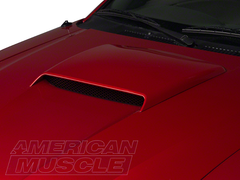 SpeedForm GT Style Hood Scoop - Unpainted (99-04 GT; 99-02 V6; 2001 Bullitt)