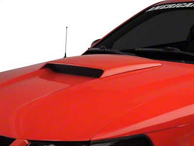 Pre-Painted GT Style Hood Scoop - Black (99-04 GT; 99-02 V6; 01 Bullitt)