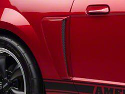 SpeedForm GT Style Side Scoops; Pre-Painted; Black (99-04 All)
