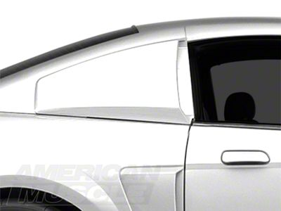 MMD Quarter Window Scoops - Unpainted (99-04 Coupe)