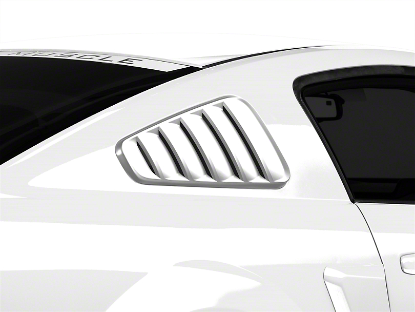 SpeedForm Classic Quarter Window Louvers - Unpainted (05-09 All)