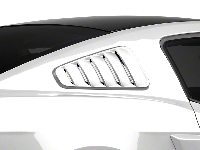SpeedForm Classic Quarter Window Louvers - Unpainted (10-14 Coupe)
