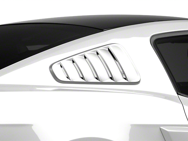 SpeedForm Classic Quarter Window Louvers - Unpainted (10-14 All)