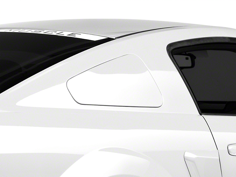 Mmd Mustang Gt350 Style Window Covers Unpainted 71318 00