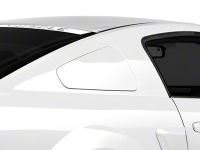MMD GT350 Style Window Covers - Unpainted (05-09 Coupe)