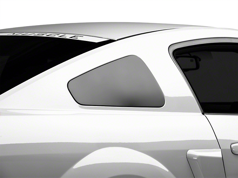 MMD GT350 Style Window Covers - Matte Black (05-09 Coupe)
