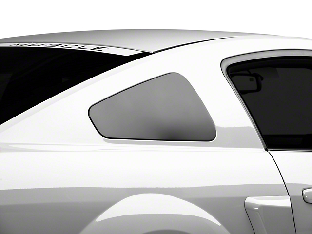 MMD GT350 Style Window Covers - Matte Black (05-09 All)