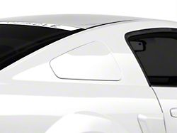 MMD GT350 Style Window Covers; Pre-Painted (05-09 Coupe)