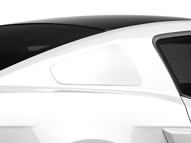 MMD GT350 Style Window Covers; Unpainted (10-14 Coupe)