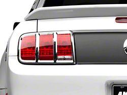 MMD Tail Light Trim; Chrome (05-09 All)