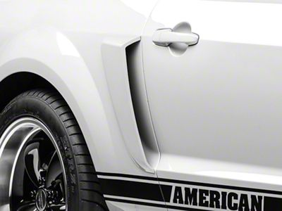 MMD Pre-Painted Side Scoops - Black (05-09 All)