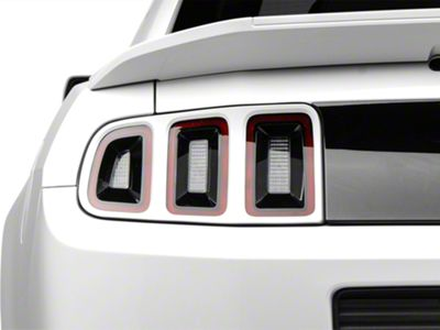 MMD Pre-Painted Tail Light Trim - Oxford White (13-14 All)