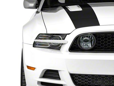 MMD Pre-Painted Headlight Splitters - Oxford White (13-14 All)