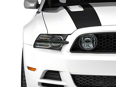 MMD Headlight Splitters - Matte Black (13-14 All)