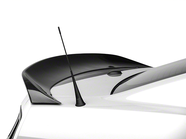 MMD Ducktail Rear Spoiler; Carbon Fiber (10-14 All)