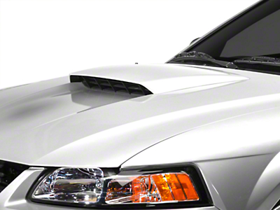 MMD Pre-Painted Hood Scoop - Black (99-04 GT; 99-02 V6; 01 Bullitt)