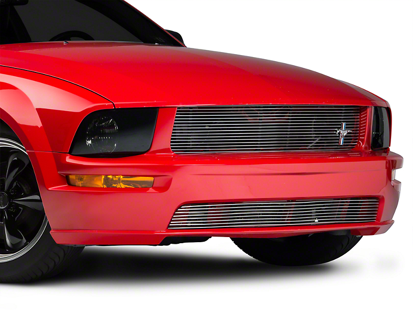 Cervini's Billet Upper Grille w/ Pony Emblem (05-09 GT, V6)