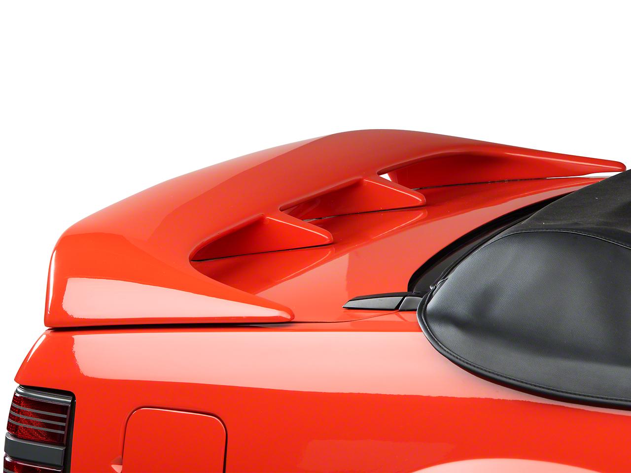 Cervini's Cobra Style Rear Wing - Unpainted (79-93 Coupe, Convertible)