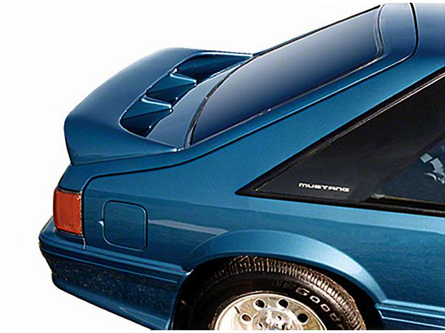 Cervini's Cobra Style Rear Wing - Unpainted (79-93 Hatchback)