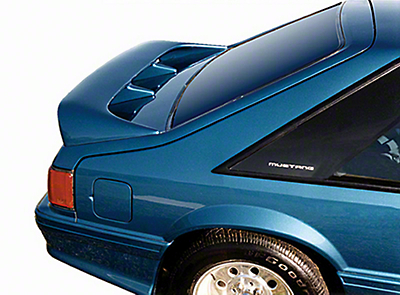 Cervini's Cobra Style Rear Wing - Unpainted (79-93 Hatchback)