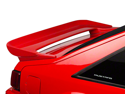 Cervini's Saleen Rear Wing - Unpainted (79-93 Hatchback)