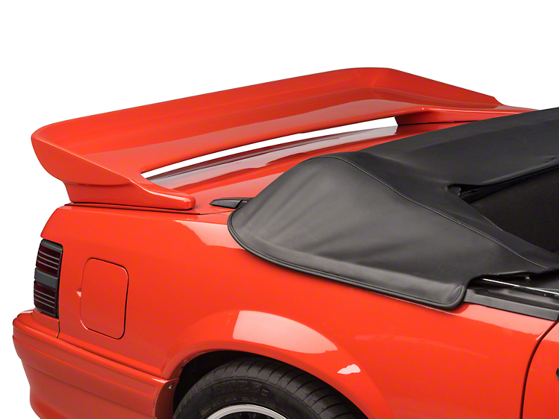Cervini's Saleen Rear Wing - Unpainted (79-93 Coupe, Convertible)