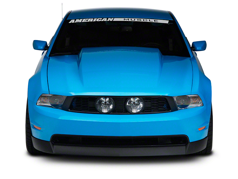 Cervini's 2.5 in. Cowl Hood - Unpainted (10-12 GT, V6)