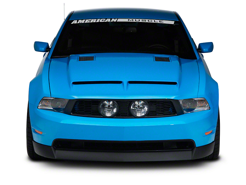 Cervini's Ram Air Type IV Hood - Unpainted (10-12 GT, V6)