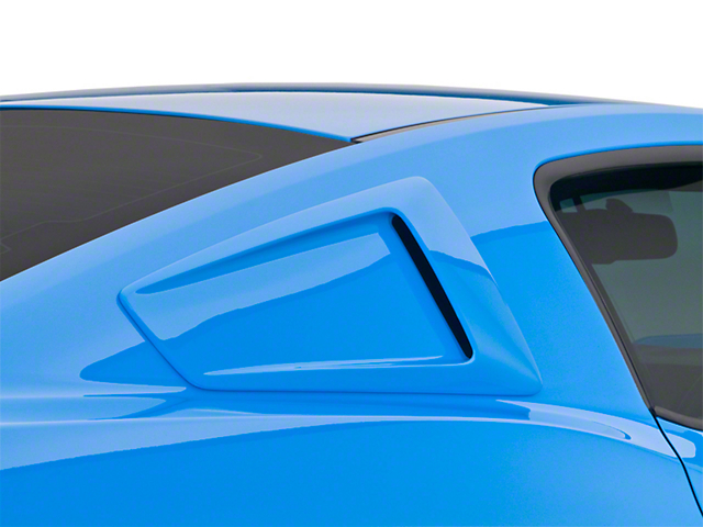 Cervini's Stalker Quarter Window Scoops - Unpainted (10-14 Coupe)