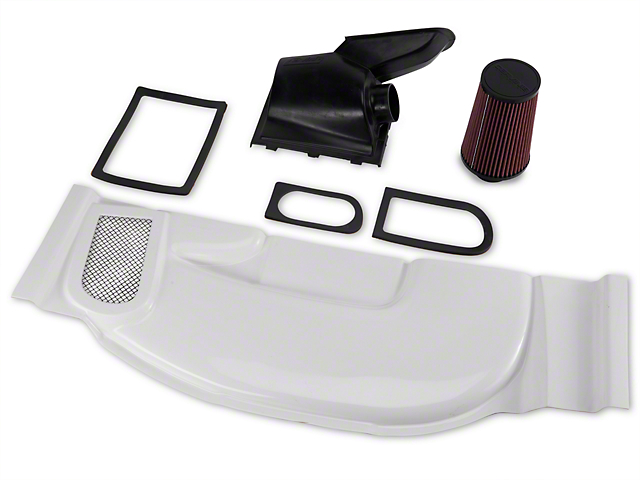 Cervini's Functional Ram Air Kit for Stormin Norman Hood (87-93 5.0L)