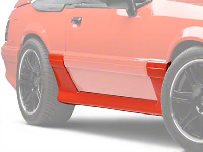 Cervini's 93 Cobra Style Side Skirts (87-93 GT, LX)