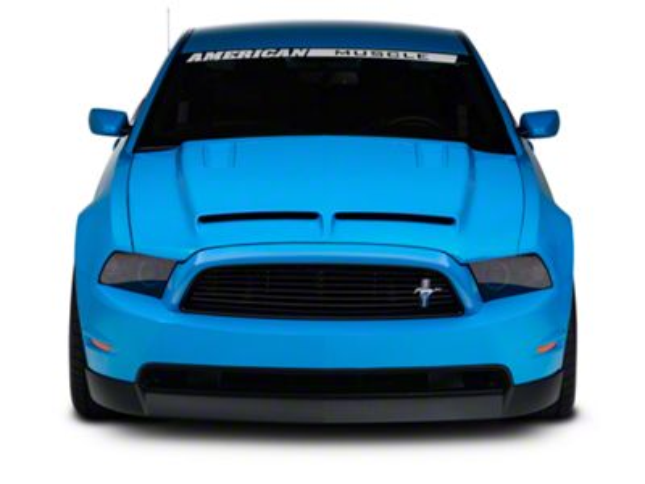 133be8e55eef Cervini s Mustang Ram Air Hood - Unpainted 1198 (10-12 GT