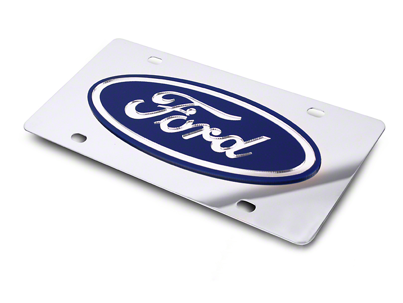 SpeedForm Front License Plate - Ford Oval (79-18 All)