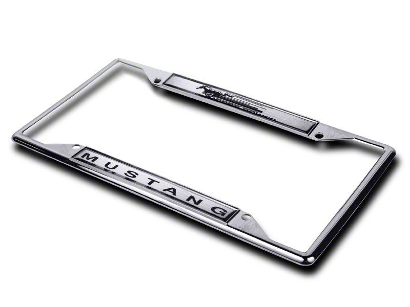 SpeedForm License Plate Frame - Mustang Horsepower (79-19 All)