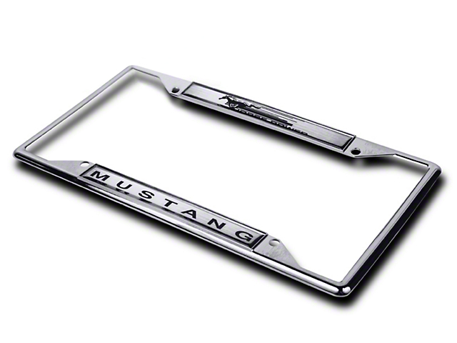 SpeedForm Mustang License Plate Frame - Mustang Horsepower 74109 (79 ...