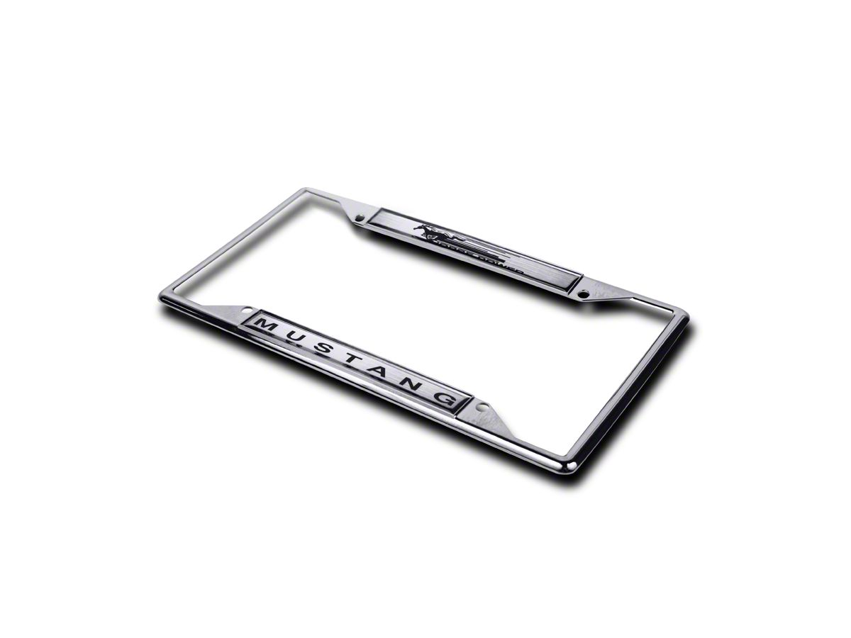 License Plate Tag Frame Domestic//Standard Metal Fastener//Screw Black Caps cover