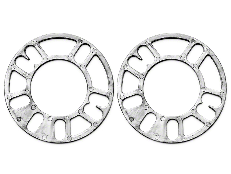Wheel & Brake Spacers - 1/8 in. - Pair (79-93 All)