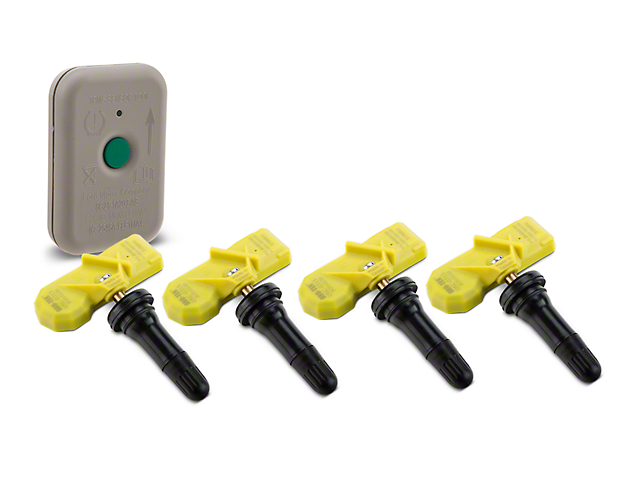 TPMS Full Mounting/Balancing Kit; 4 Wheels (07-09 All)
