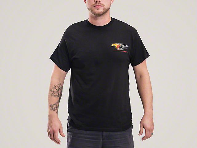 Flaming Pony T-Shirt - Mens