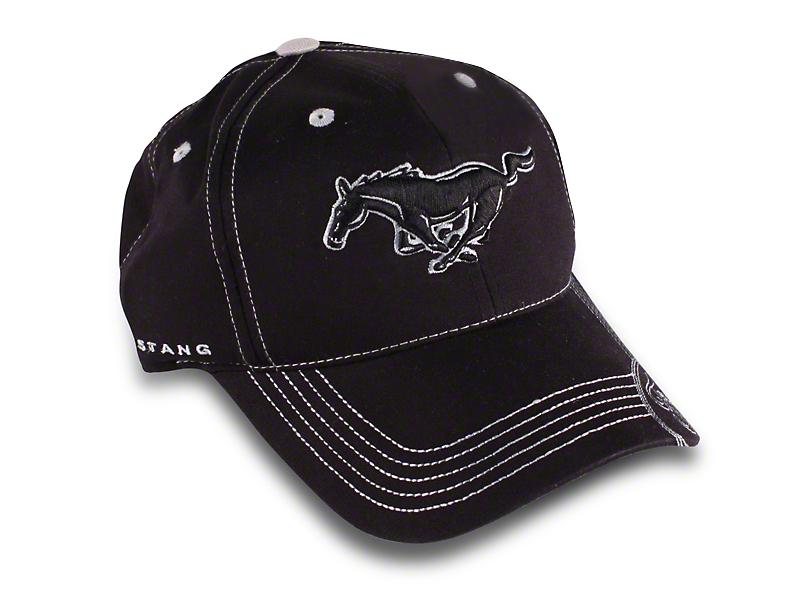 Running Pony Hat - Black