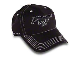 Running Pony Hat - Black