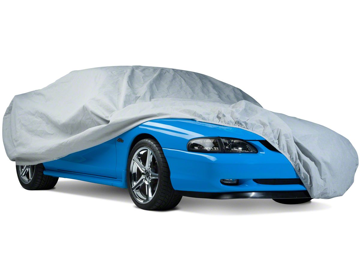 9 Layer Car Cover Fit 2007 Ford Mustang Convertible Waterproof Outdoor Snow Rain