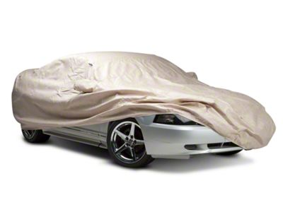 Black Covercraft Custom Fit Car Cover for Select Ford Mustang Models Fleeced Satin FS16649F5