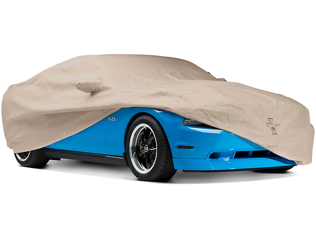 Covercraft Deluxe Custom Fit Car Cover - Pony Logo (10-14 All, Excluding 13-14 GT500)