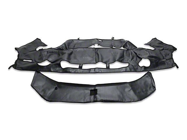 Covercraft Colgan Original Car Bra without License Plate Opening; Carbon Fiber (10-12 GT500)