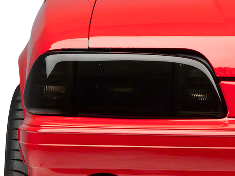 SpeedForm Smoked Headlight Covers (87-93 All)