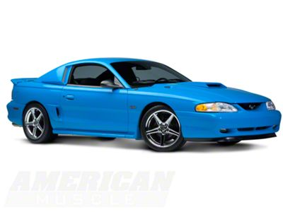 94-98 Ford Mustang Cobra V6 GT Xenon Urethane Ram Air Style Hood Scoop NEW 12731